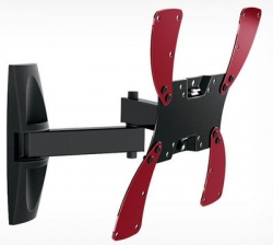 Кронштейн для телевизора Holder LCDS-5046 черный 10 -40 макс.30кг настенный поворот и наклон