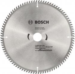Пильный диск по алюминию Bosch 2608644395 d=254мм d(посад.)=30мм (циркулярные пилы)