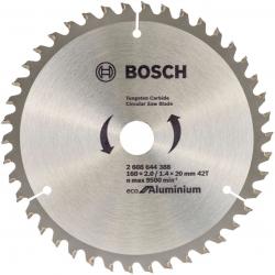 Пильный диск по алюминию Bosch 2608644388 d=160мм d(посад.)=20мм (циркулярные пилы)