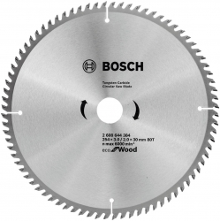 Пильный диск по дереву Bosch 2608644384 d=254мм d(посад.)=30мм (циркулярные пилы)