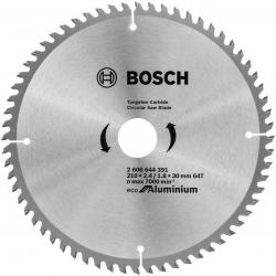 Пильный диск по алюминию Bosch 2608644391 d=210мм d(посад.)=30мм (циркулярные пилы)