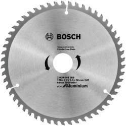 Пильный диск по алюминию Bosch 2608644389 d=190мм d(посад.)=30мм (циркулярные пилы)