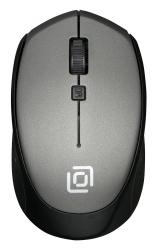 Мышь Oklick 488MW серый/черный беспроводная