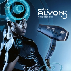 Фен Parlux Alyon Air Ioinizer Tech синий