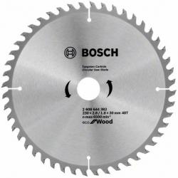 Алмазный диск по дереву Bosch ECO WO (2608644382) d=230мм d(посад.)=30мм (циркулярные пилы)