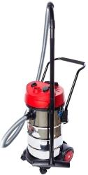 Строительный пылесос RedVerg RD-VC9540 1200Вт (уборка: сухая/влажная) серебристый