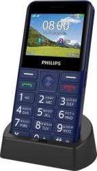 Мобильный телефон Philips E207 Xenium синий моноблок 2.31