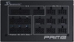 Блок питания Seasonic ATX 850W PRIME TX-850 80+ titanium 24+4+4pin APFC 135mm fan 14xSATA Cab Manag RTL