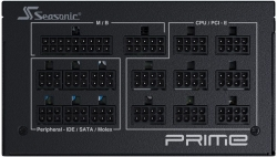 Блок питания Seasonic ATX 850W PRIME GX-850 80+ gold 24+2x4+4 pin 135mm fan 14xSATA Cab Manag RTL