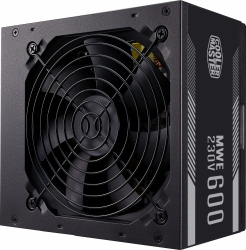 Блок питания Cooler Master ATX 600W MWE White 600W V2 80+ 24+4+4pin APFC 120mm fan 6xSATA RTL