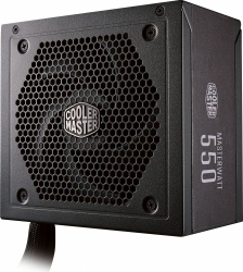 Блок питания Cooler Master ATX 550W MasterWatt 550 80+ bronze 24+4+4pin APFC 120mm fan 6xSATA Cab Manag RTL