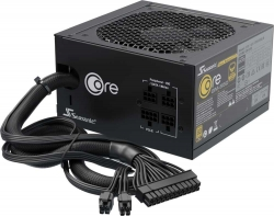 Блок питания Seasonic ATX 650W CORE GM-650 SSR-650LM 80+ gold 24+4+4pin APFC 120mm fan 4xSATA