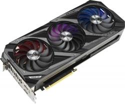 Видеокарта Asus PCI-E 4.0 ROG-STRIX-RTX3080-O10G-GAMING NVIDIA GeForce RTX 3080 10240Mb 320 GDDR6X 1440/19000/HDMIx2/DPx3/HDCP Ret