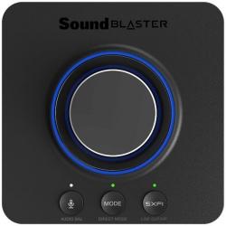 Звуковая карта Creative USB Sound BlasterX X-3 SB-Axx1 7.1 Ret