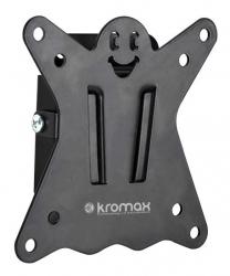 Кронштейн для телевизора Kromax CASPER-100 черный 10-32 макс.25кг настенный фиксированный