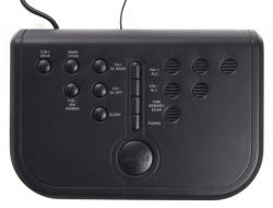 Радиобудильник Hyundai H-RCL120 черный LED подсв:красная часы:цифровые AM/FM