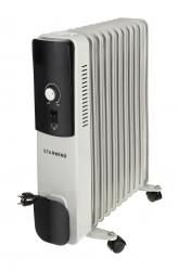 Радиатор масляный Starwind SHV4120 белый/черный