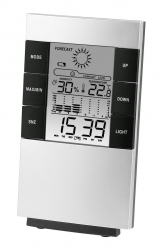 Термометр Hama TH-200 серебристый/черный