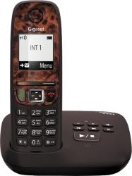 Р/Телефон Dect Gigaset A415A RUS ESPRESSO коричневый автооветчик АОН