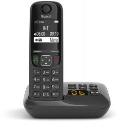 Р/Телефон Dect Gigaset AS690A RUS черный автооветчик АОН