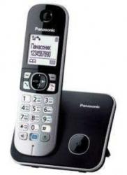 Р/Телефон Dect Panasonic KX-TG6811RUB черный АОН
