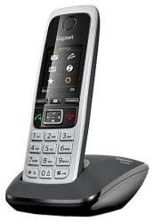 Р/Телефон Dect Gigaset C430 RUS черный АОН