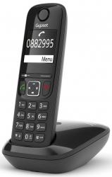 Р/Телефон Dect Gigaset AS690 RUS SYS черный АОН