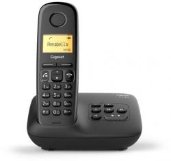 Р/Телефон Dect Gigaset A270A AM RUS черный автооветчик АОН