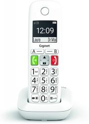 Трубка доп. Dect Gigaset E290HX HSB RUS белый для E290