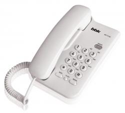Телефон проводной BBK BKT-74 RU белый