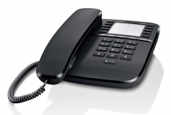 Телефон проводной Gigaset DA510 RUS черный