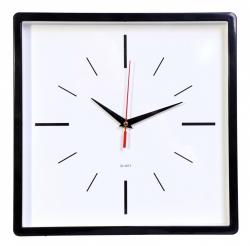 Часы настенные аналоговые Бюрократ WallC-S61P D30см черный