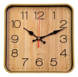 Часы настенные аналоговые Бюрократ WallC-S62P D19см бежевый