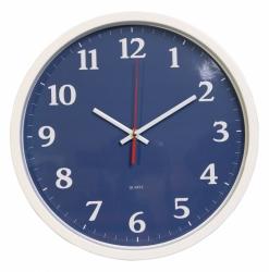 Часы настенные аналоговые Бюрократ WallC-R66P D30см белый