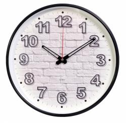 Часы настенные аналоговые Бюрократ WallC-R71P D29см черный