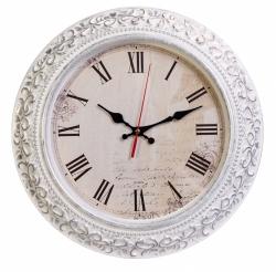 Часы настенные аналоговые Бюрократ WallC-R73P D35см белый
