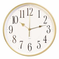 Часы настенные аналоговые Бюрократ WallC-R76P D29см белый