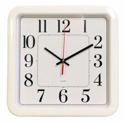 Часы настенные аналоговые Бюрократ WallC-S79P D29см белый
