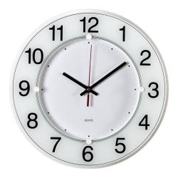 Часы настенные аналоговые Бюрократ WALLC-R84P D31см белый