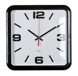 Часы настенные аналоговые Бюрократ WALLC-S90P D29см серый/белый