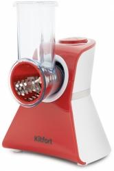 Измельчитель электрический Kitfort КТ-1382 белый/красный
