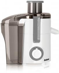 Соковыжималка центробежная BBK JC060-H11 550Вт белый/серый
