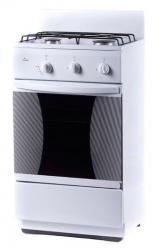 Плита Комбинированная Flama CK 2201 W белый