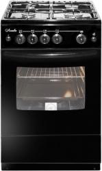 Плита Газовая Лысьва ГП 400 М2С-2у черный (стеклянная крышка)
