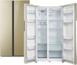 Холодильник Бирюса SBS 587 GG бежевый