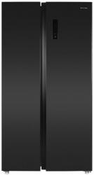 Холодильник Maunfeld MFF177NFSB черный