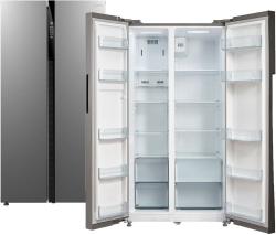 Холодильник Бирюса SBS 587 I нержавеющая сталь