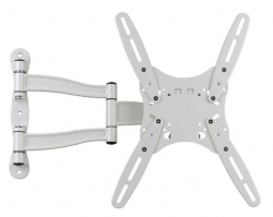 Кронштейн для телевизора Kromax TECHNO-5 белый 15 -55 макс.35кг настенный поворот и наклон