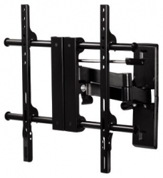 Кронштейн для телевизора Hama H-108730 черный 23 -50 макс.45кг настенный поворотно-выдвижной и наклонный
