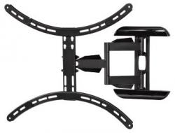 Кронштейн для телевизора Hama Fullmotion H-118620 черный 37 -65 макс.35кг настенный поворот и наклон